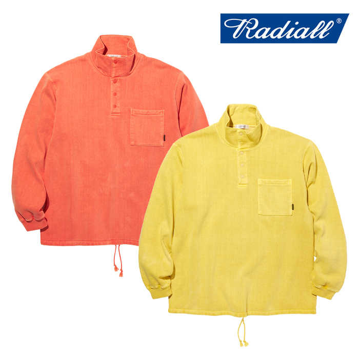RADIALL(ラディアル) NOVA - STAND COLLARED SWEATSHIRT L/S 【スウェット】【2020 AUTUMN&WINTER COLLECTION】【RAD-20AW-CUT007