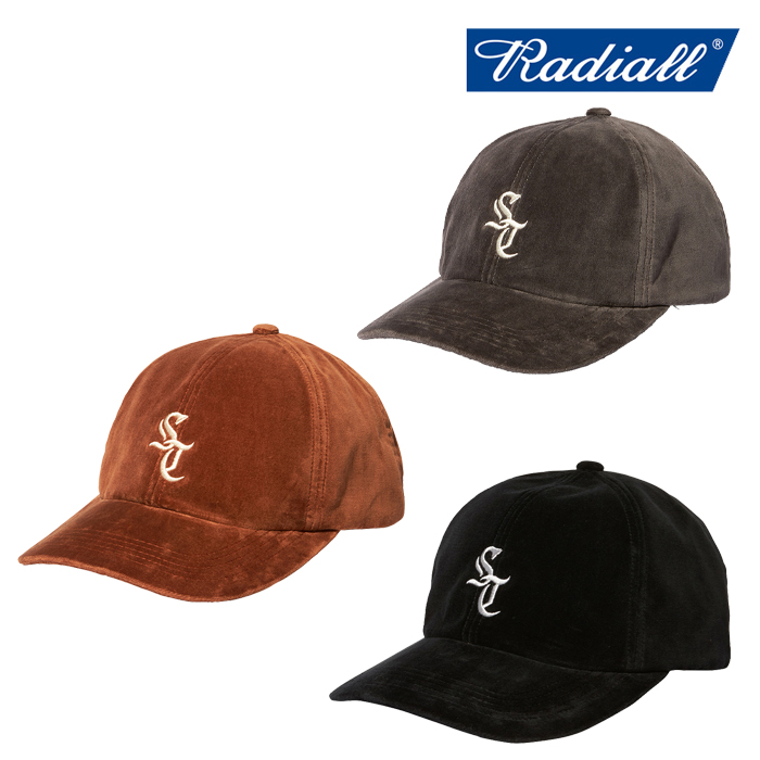 RADIALL(ラディアル) SUNTOWN - BASEBALL LOW CAP 【ベースボールキャップ】【2020 AUTUMN&WINTER COLLECTION】【RAD-20AW-HAT009