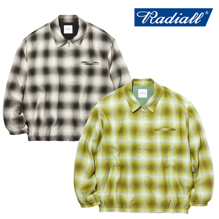 RADIALL(ラディアル) FAME - ZIP UP BLOUSON 【ジップアップブルゾン】【2020 AUTUMN&WINTER COLLECTION】【RAD-20AW-JK012】