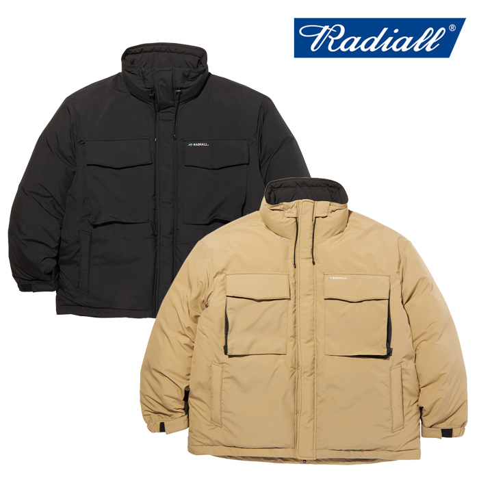 RADIALL(ラディアル) LAPAZ - STAND COLLARED DOWN JACKET 【ダウンジャケット】【2020 AUTUMN&WINTER COLLECTION】【RAD-20AW-JW0