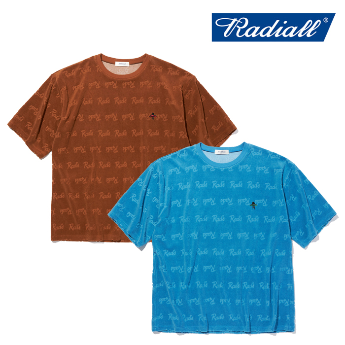 RADIALL(ラディアル) APACHE - CREW NECK T-SHIRT S/S 【Tシャツ 半袖】【2021 SPRING&SUMMER COLLECTION】【RAD-21SS-CUT007】