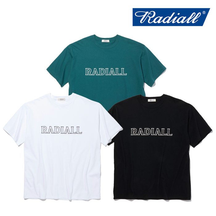 RADIALL(ラディアル) OUTLINE - CREW NECK T-SHIRT S/S 【Tシャツ 半袖】【2021 SPRING&SUMMER COLLECTION】【RAD-21SS-TEE010】