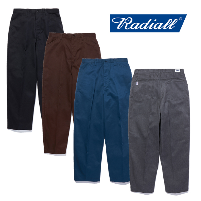 RADIALL (ラディアル)  CONQUISTA - WIDE TAPERED FIT PANTS  【ワークパンツ チノパン パンツ】【2021 AUTUMN&WINTER COLLECTION