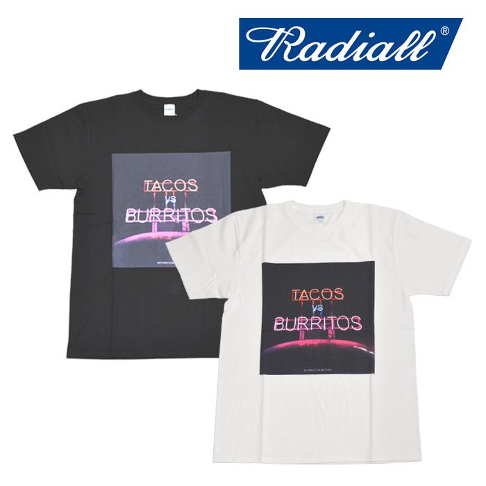 RADIALL(ラディアル) TACOS VS BURRITOS - CREW NECK T-SHIRT 【2018 SPRING&SUMMER SPOT】 【RAD-18SS-SPOT-TEE004】