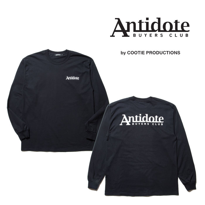 ANTIDOTE BUYERS CLUB(アンチドートバイヤーズクラブ) Print L/S Tee (ANTIDOTE LOGO) 【RX-02-17A309】