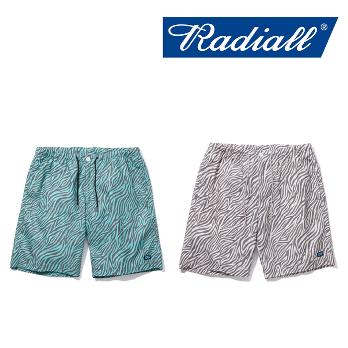 【SALE】 RADIALL(ラディアル) COSMIC SLOP EASY SHORTS 【2018 SPRING&SUMMER新作】 【RADIALL ショーツ】 【RAD-18SS-PT011】