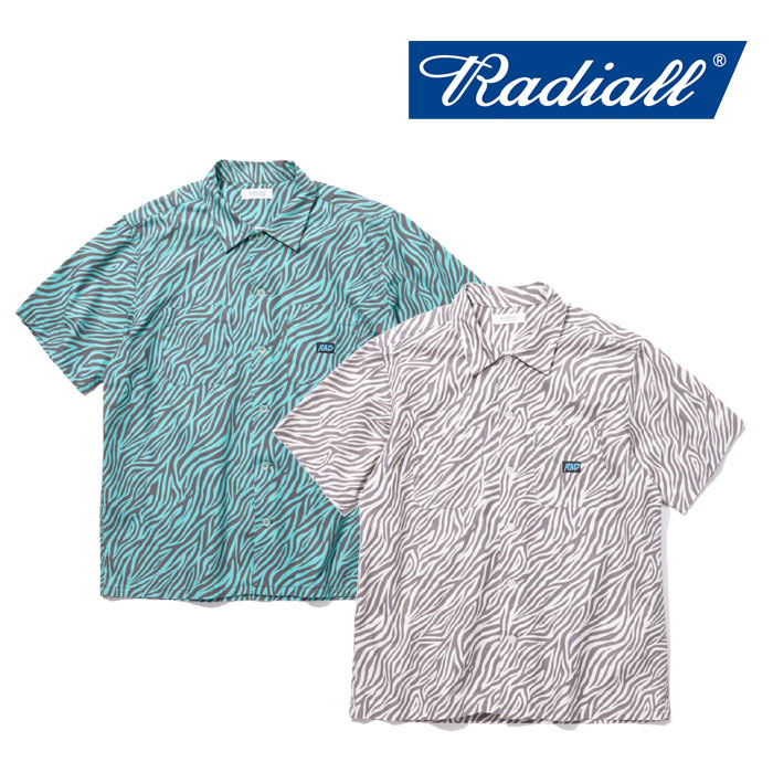 【SALE】 RADIALL(ラディアル) COSMIC SLOP OPEN COLLARED SHIRT S/S 【2018 SPRING&SUMMER新作】 【RADIALL シャツ】 【RAD-18