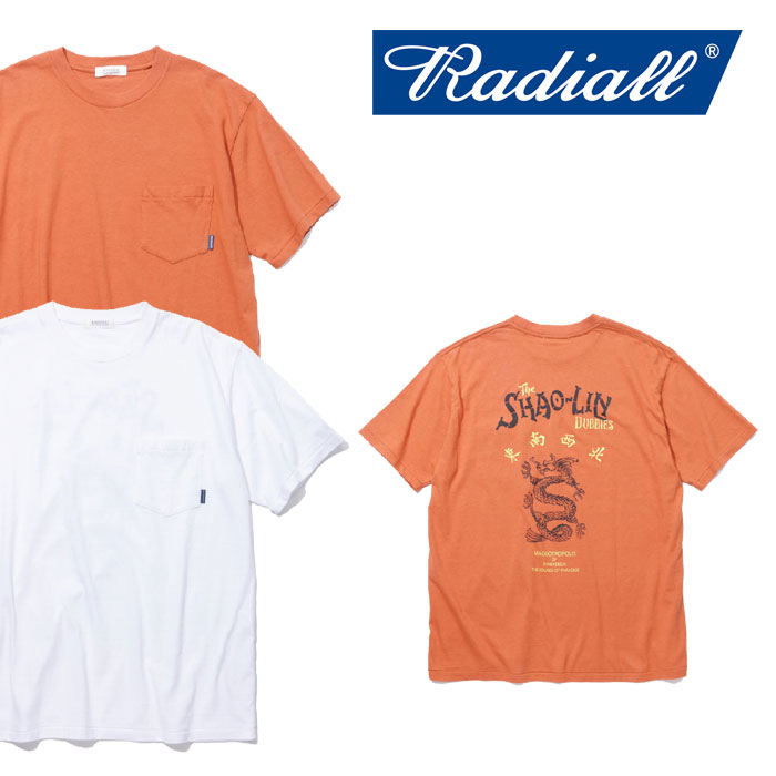【SALE】 RADIALL(ラディアル) SHAOLIN DUBBIES CREW NECK POCKET T-SHIRT 【2018 SPRING&SUMMER新作】 【RADIALL Tシャツ】 【