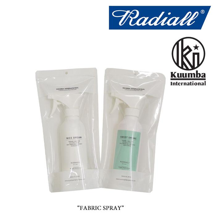 RADIALL(ラディアル) FABRIC SPRAY(ファブリックスプレー) 【RADIALL ファブリックスプレー】【KUMMBA】【クンバ】 【RAD-KMB007