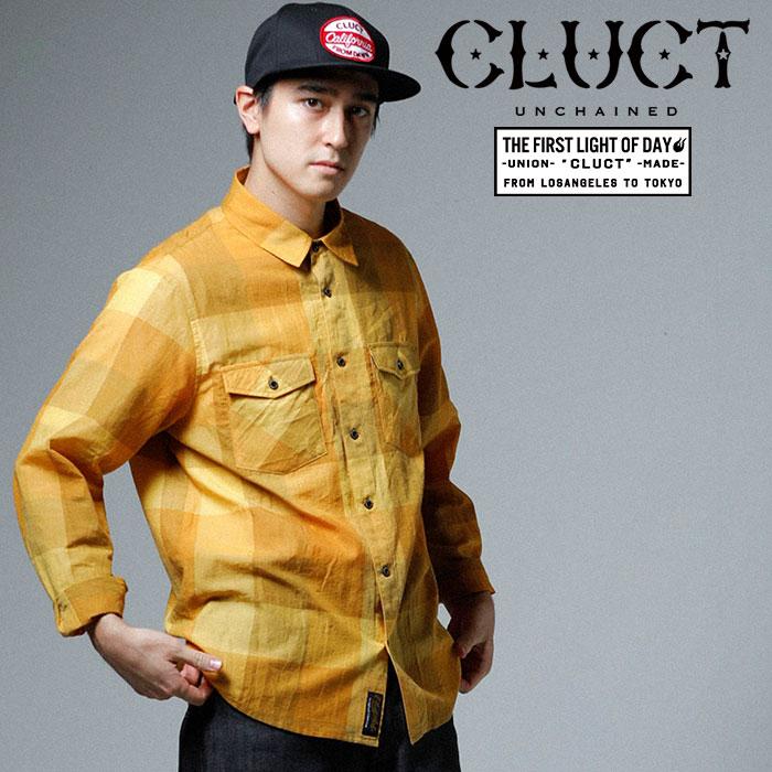 CLUCT(クラクト) L/S CHECK SHIRTS 【2019SPRING先行予約】【キャンセル不可】 【#02934】【シャツ】