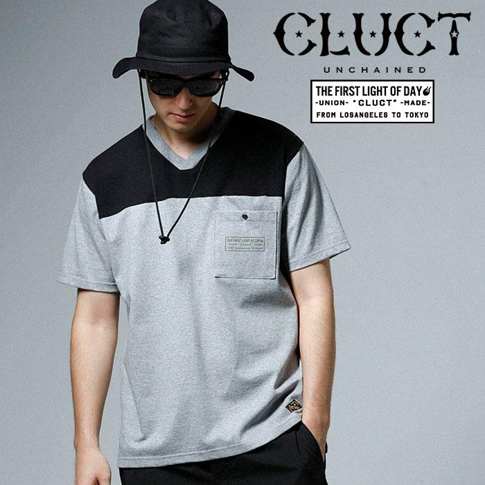 CLUCT(クラクト) S/S V NECK TEE 【2019SPRING先行予約】【キャンセル不可】 【#02938】【Tシャツ】