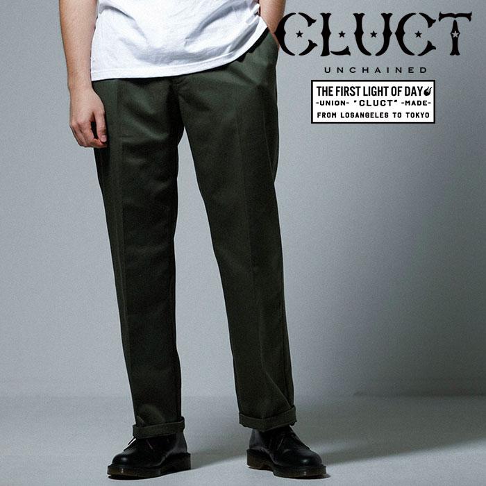 CLUCT(クラクト) WORK PANTS 【2019SPRING先行予約】【キャンセル不可】 【#02971】【パンツ】