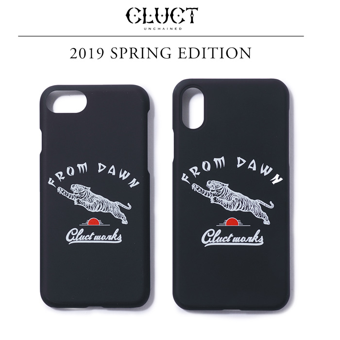 CLUCT(クラクト) i Phone CASE 8 / X 【2019SPRING EDITION新作】 【#03048】【iphoneケース】