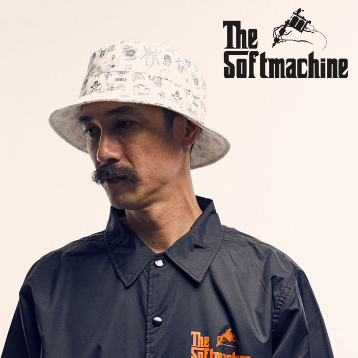 SOFTMACHINE(ソフトマシーン) JUNBLE HAT 【2019SPRING&SUMMER先行予約】【キャンセル不可】【ハット】