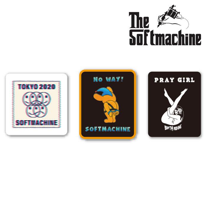 SOFTMACHINE(ソフトマシーン) STICKER SET 【ステッカー シール タトゥー TATTOO おしゃれ】【2020SUMMER VACATION新作】