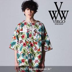 VIRGO(ヴァルゴ) U.N.V big aloha summer jkt 【2018SPRING/SUMMER新作】 【送料無料】【即発送可能】 【VG-JKT-189】