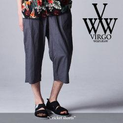 VIRGO(ヴァルゴ) Cricket Shorts 【2018SPRING/SUMMER新作】 【送料無料】【即発送可能】 【VG-PT-289】