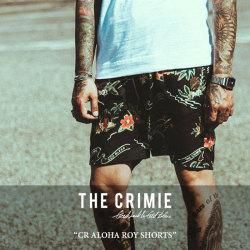 CRIMIE(クライミー) CR ALOHA ROY SHORTS 【2018 SUMMER新作】 【送料無料】【即発送可能】 【C1H3-PT10】