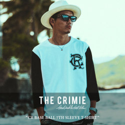 CRIMIE(クライミー) CR BASE BALL 7TH SLEEVE T-SHIRT 【2018 SUMMER新作】 【即発送可能】 【C1H3-TE13】