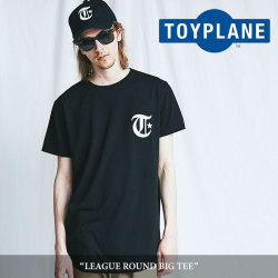 TOYPLANE(トイプレーン) LEAGUE ROUND BIG TEE 【2018SUMMER/FALL新作】【TP18-NCS06】