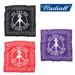 RADIALL(ラディアル) CIRCLE OF LOVE BANDANA 【2018 SPRING&SUMMER新作】 【RADIALL バンダナ】 【RAD-18SS-ACC008】