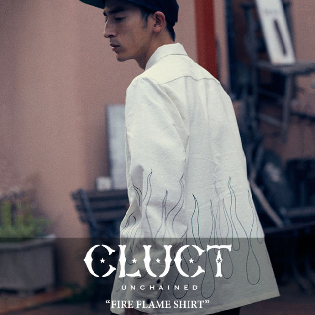 CLUCT(クラクト) FIRE FLAME SHIRT 【2017HOLIDAY先行予約】 【送料無料】【キャンセル不可】 【CLUCT シャツ】【#02258】