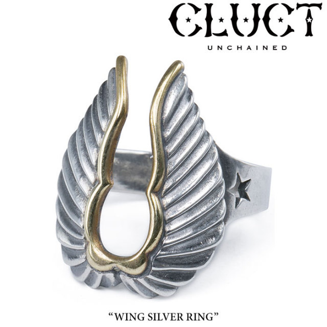 CLUCT(クラクト) WING SILVER RING 【2017SPRING先行予約】 【送料無料】【キャンセル不可】 【CLUCT リング】 【#02402】
