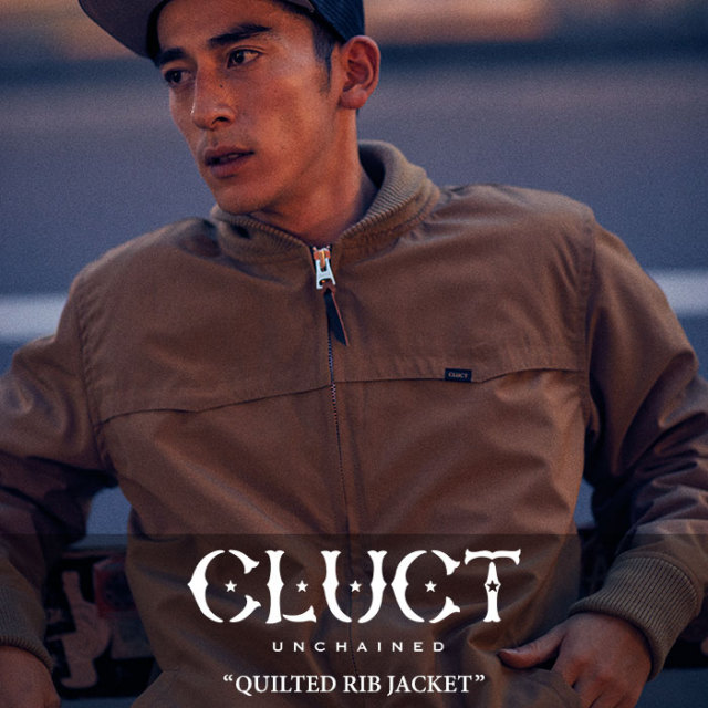 CLUCT(クラクト) QUILTED RIB JACKET 【2017HOLIDAY新作】 【送料無料】【即発送可能】 【CLUCT アウター】【#02498】
