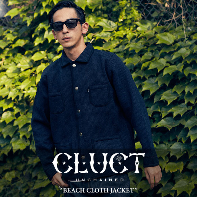 CLUCT(クラクト) BEACH CLOTH JACKET 【2017HOLIDAY先行予約】 【送料無料】【キャンセル不可】 【CLUCT アウター】【#02555】