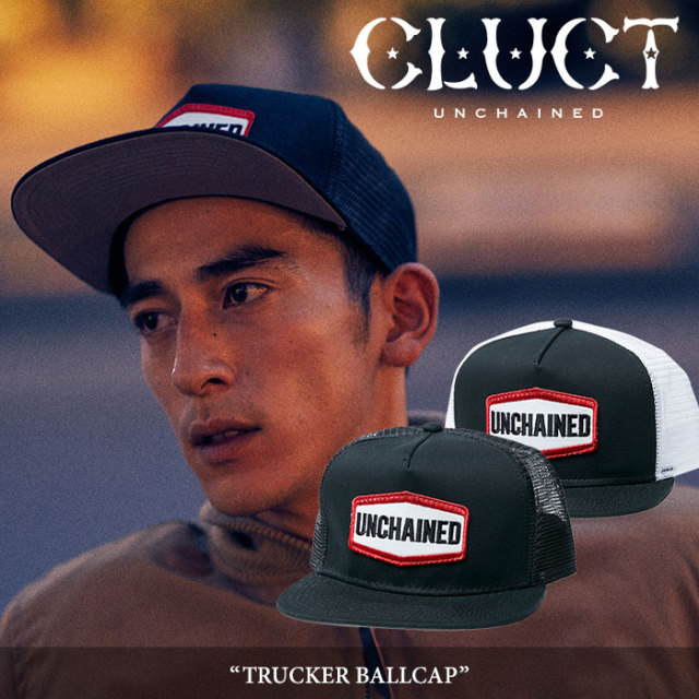 CLUCT(クラクト) TRUCKER BALL CAP 【2017HOLIDAY新作】 【即発送可能】 【CLUCT メッシュキャップ】 【#02627】