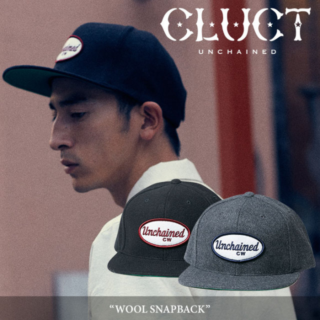 CLUCT(クラクト) WOOL SNAPBACK 【2017HOLIDAY新作】 【即発送可能】 【CLUCT キャップ】 【#02629】