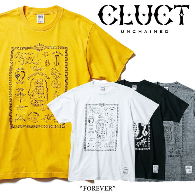 CLUCT(クラクト) FOREVER 【2017HOLIDAY先行予約】 【キャンセル不可】 【CLUCT Tシャツ】 【#02632】