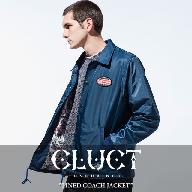 CLUCT(クラクト) LINED COACH JACKET 【2018SPRING新作】 【送料無料】【即発送可能】 【CLUCT アウター】 【#02646】
