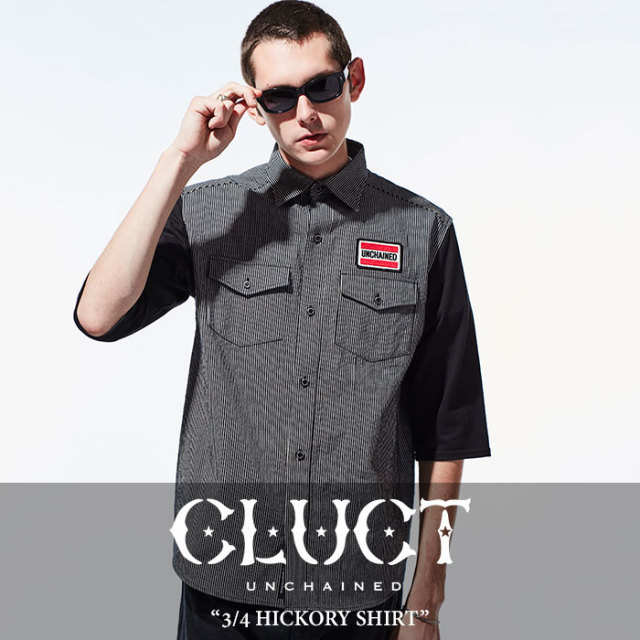 【SALE】 CLUCT(クラクト) 3/4 HICKORY SHIRT 【2018SPRING新作】【#02666】
