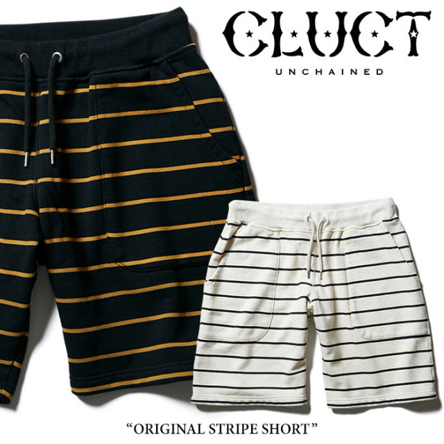 【SALE】 CLUCT(クラクト) ORIGINAL STRIPE SHORT 【2018SPRING新作】【#02678】