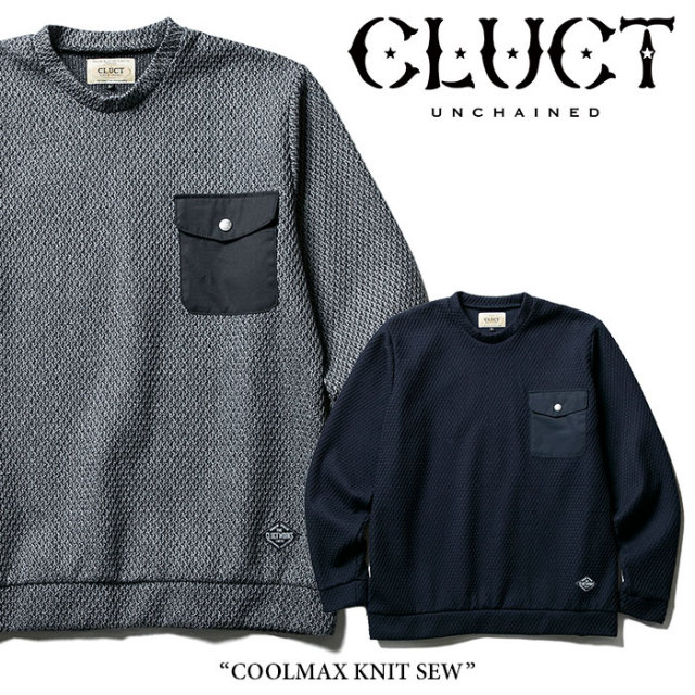 CLUCT(クラクト) COOLMAX KNIT SEW 【2018SPRING先行予約】 【送料無料】【キャンセル不可】 【CLUCT カットソー】【#02682】