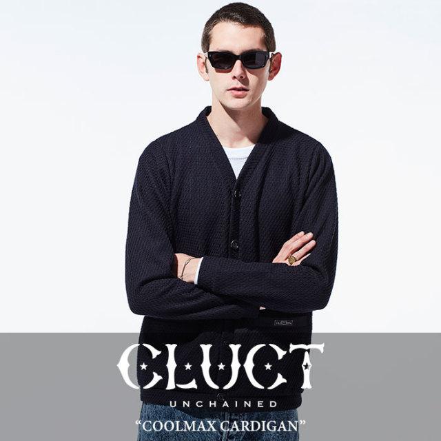 【SALE】 CLUCT(クラクト) COOLMAX CARDIGAN 【2018SPRING新作】【#02683】