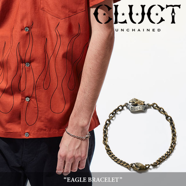 CLUCT(クラクト) EAGLE BRACELET 【2018SPRING新作】 【即発送可能】 【CLUCT ブレスレット】 【#02705】