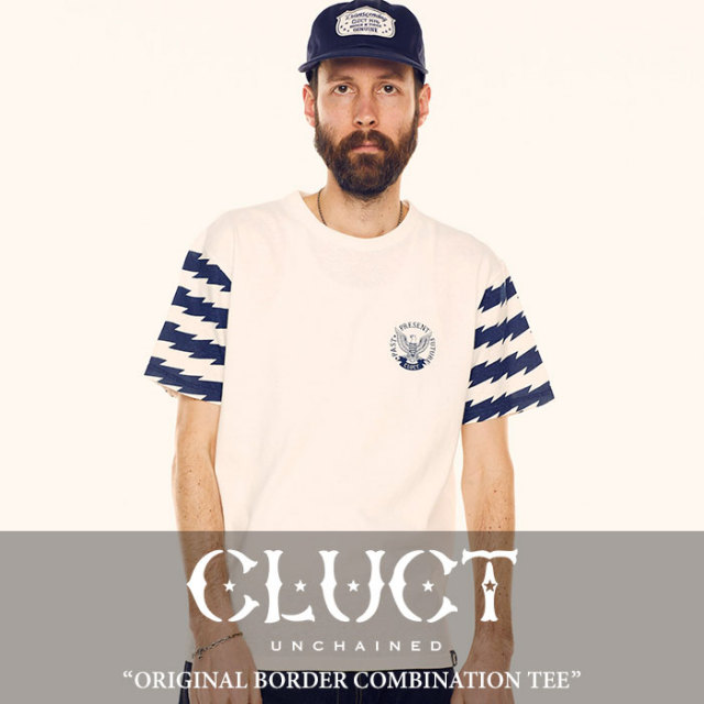 CLUCT(クラクト) ORIGINAL BORDER COMBINATION TEE 【2018SUMMER先行予約】 【キャンセル不可】 【#02742】