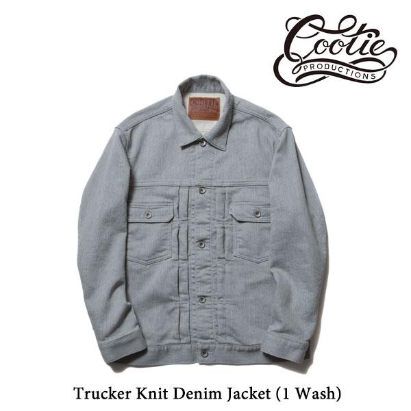 COOTIE(クーティー) Trucker Knit Denim Jacket (1 Wash)