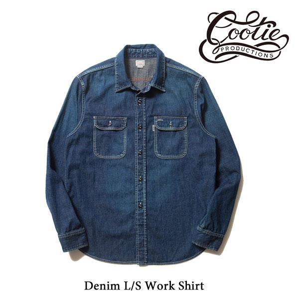 COOTIE(クーティー) Denim L/S Work Shirt