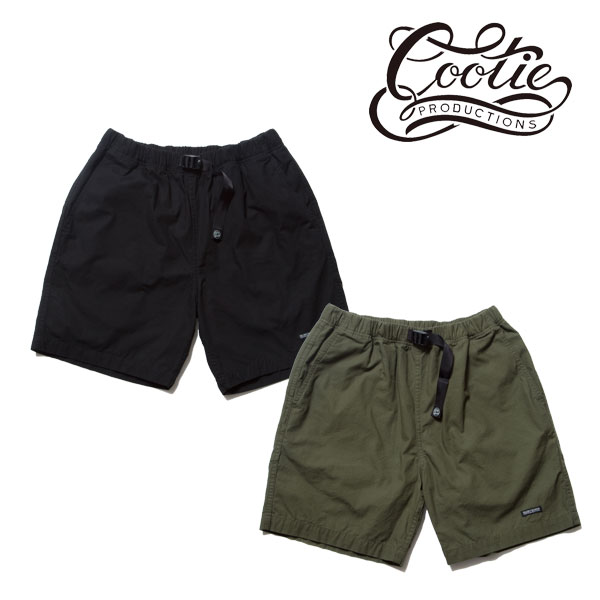 COOTIE(クーティー) Ripstop Over Hang Shorts