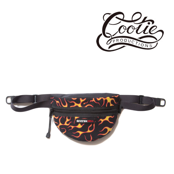 COOTIE(クーティー)  Flames Waist Pack