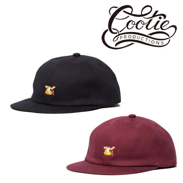 COOTIE(クーティー)Twill 6 Panel Trucker Cap(MR.NATURAL)