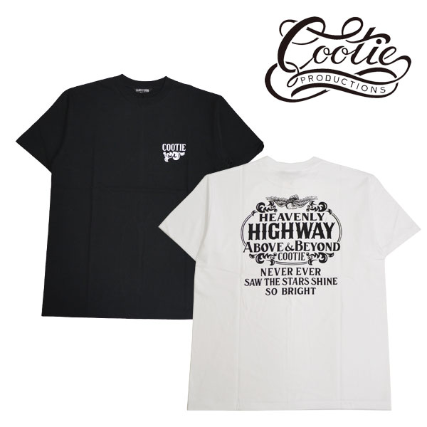 COOTIE(クーティー) Print S/S Tee (HEAVENLY HIGHWAY)