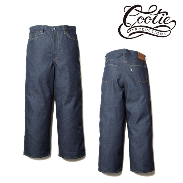 COOTIE(クーティー)  5 Pocket Rigid Wide Denim