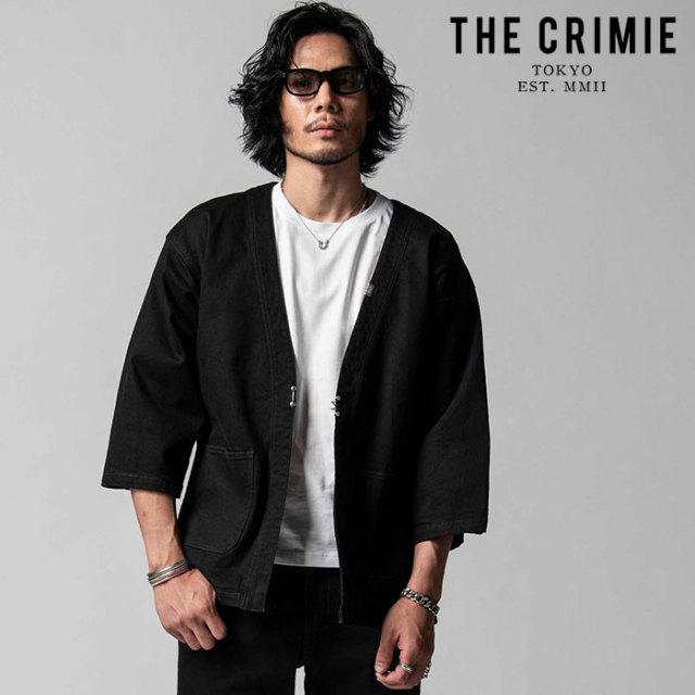 "CRIMIE(クライミー) BORN AGAINST STRETCH BLACK HAPPI JACKET 【""THE"" SERIES COLLECTION 先行予約】【定番商品】【キャンセル不"