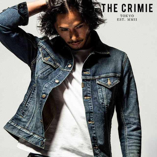 """CRIMIE(クライミー) BORN FREE STRETCH SELVEDGE GARAGE USED JACKET 【""""THE"""" SERIES COLLECTION 先行予約】【定番商品】【キャン"""