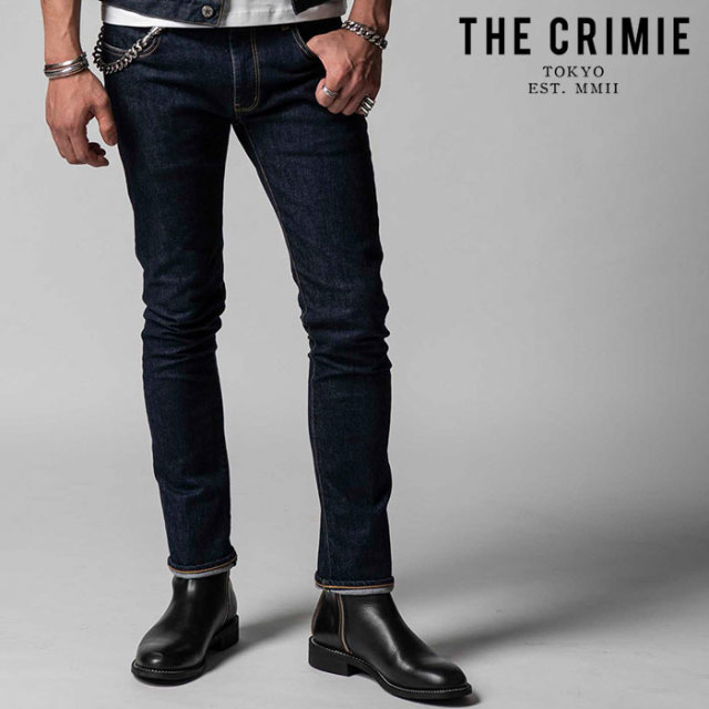 "CRIMIE(クライミー) BORN FREE STRETCH SELVEDGE SLIM JEANS 【""THE"" SERIES COLLECTION 先行予約】【定番商品】【キャンセル不可"