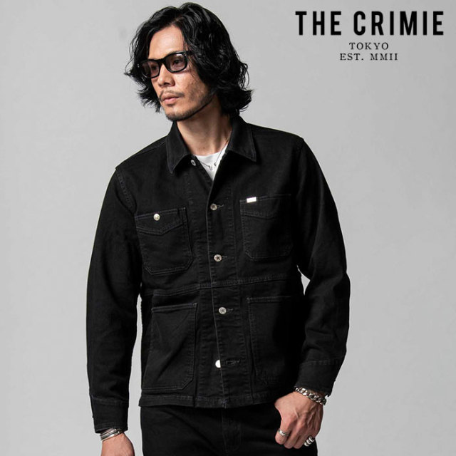 "CRIMIE(クライミー) BORN FREE II STRETCH BLACK JACKET 【""THE"" SERIES COLLECTION 先行予約】【定番商品】【キャンセル不可】【C"